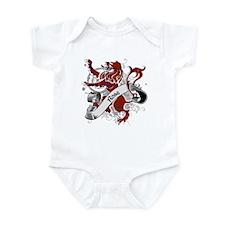 Rose Tartan Lion Infant Bodysuit