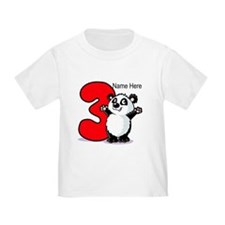 3rd Birthday Panda T