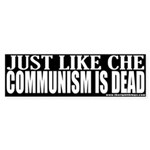 Che Like Communism Is Dead Bumper Sticker