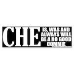 Che Guevara No Good Commie Bumper Sticker