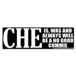 Che Guevara No Good Commie Bumper Sticker