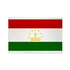 Tajikistan Rectangle Magnet