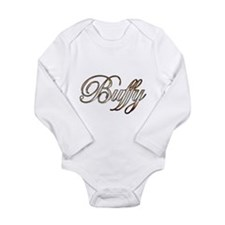Gold Buffy Body Suit