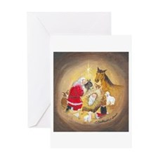 MANGER Greeting Cards