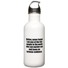 NCIS Abby Water Bottle