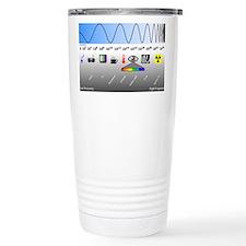 Cute Radiation Travel Mug
