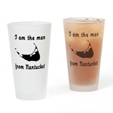 Man from Nantucket Drinking Glass