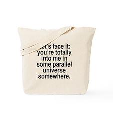 face it Tote Bag