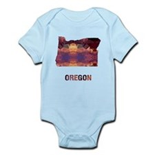 OREGON MAP Body Suit