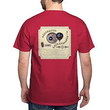 Cryptonaut Steampunk Pin T-Shirt