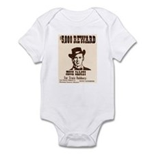 Wanted Jesse James Infant Bodysuit