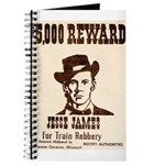 Wanted Jesse James Journal