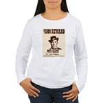 Wanted Jesse James Women's Long Sleeve T-Shirt