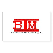 BIM 'Vandalism Is Cool' Decal