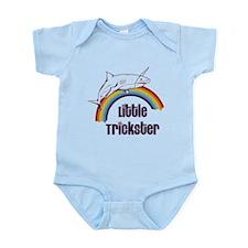 Little Trickster - Shark on a Rain Infant Bodysuit