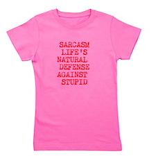 DEFENSE AGAINST STUPID Girl's Tee