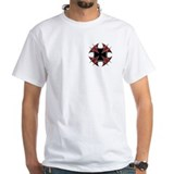Double Maltese Biker Cross Shirt