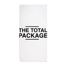 The Total Package Beach Towel