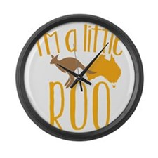 Funny Melbourne Large Wall Clock
