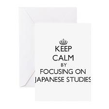 Keep calm by focusing on Japanese Studies Greeting