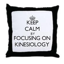 Cute Study kinesiology Throw Pillow