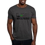 I Work Hard Dark T-Shirt