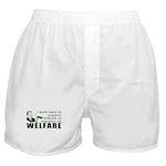 I Work Hard Boxer Shorts