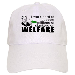 I Work Hard Cap