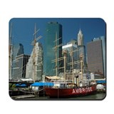 South Street Seaport Mousepad