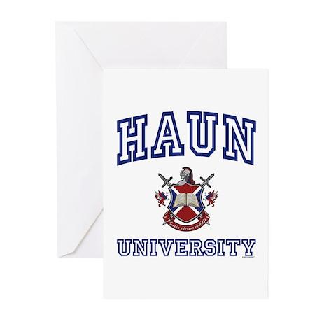 HAUN University Greeting Cards (Pk of 10)