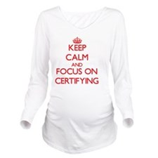 Accreditation Long Sleeve Maternity T-Shirt