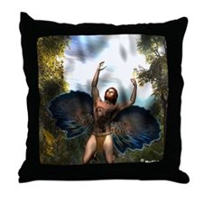 A Morning Rising Throw Pillow