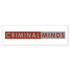 CRIMINAL MINDS Bumper Bumper Sticker