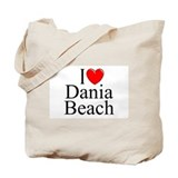"""I Love Dania Beach"" Tote Bag"