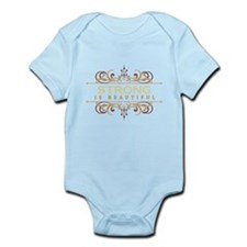 Strong is Beautiful Infant Bodysuit