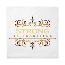 Strong is Beautiful Queen Duvet