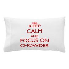 Cute Love chowder Pillow Case