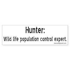 Hunters Bumper Bumper Sticker