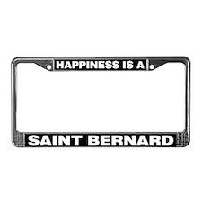 Happiness is a Saint Bernard