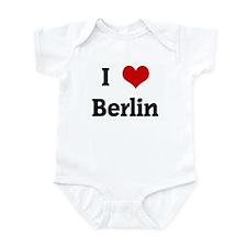 I Love Berlin Infant Bodysuit