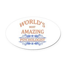 Psychologist Oval Car Magnet