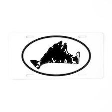 Unique Mvs Aluminum License Plate