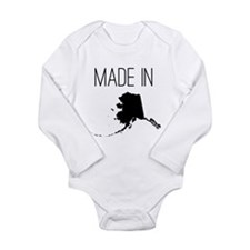 Made In Alaska Long Sleeve Infant Body Suit
