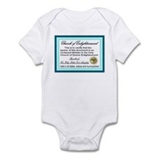 Church of Enlightenment Infant Bodysuit