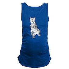 Cheetah Maternity Tank Top