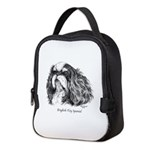 English Toy Spaniel Neoprene Lunch Bag