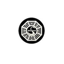 Dharma Initiative Swan Mini Button