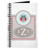Monogram owl Journals & Spiral Notebooks