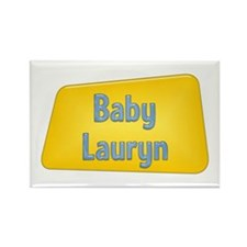 Baby Lauryn Rectangle Magnet (10 pack)