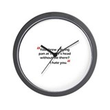 Frying Pan at Taylor Wall Clock